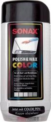 Autovosk - Barevná leštěnka -červená- SONAX Polish & Wax COL