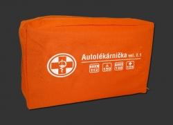 Autolékárnička- textilní obal