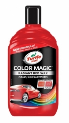 Turtle Wax COLOR MAGIC PLUS - červený 500ml