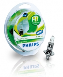 Philips EcoVision 12V H1 55W - 1ks