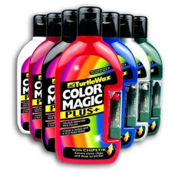 Turtle Wax COLOR MAGIC PLUS - červený 500ml + opravná tužka
