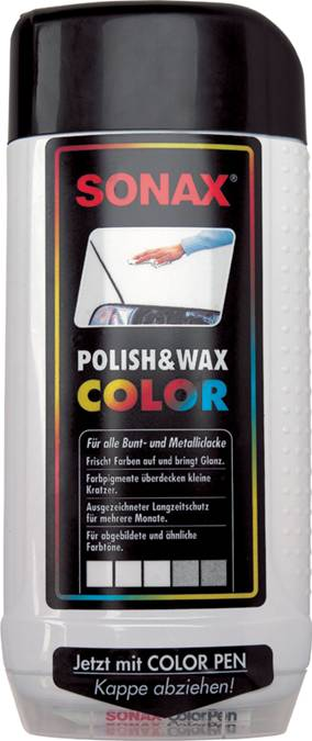 autovosk barevn le t nka ern sonax polish wax. Black Bedroom Furniture Sets. Home Design Ideas